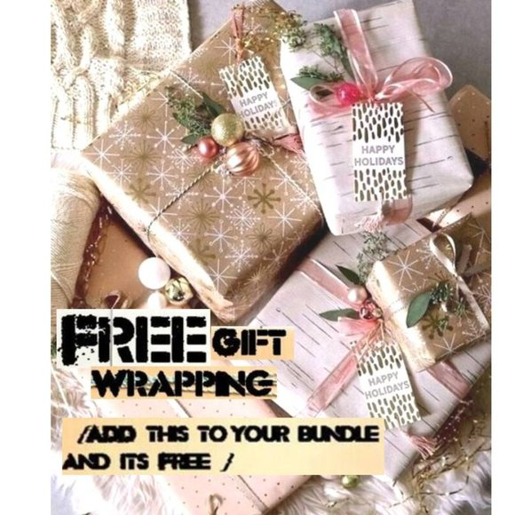 /FREE Gift Wrapping/